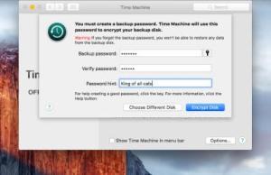 PasswordEncryptedTimeMachine