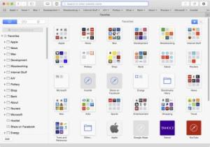 SafariBookmarksFavorites
